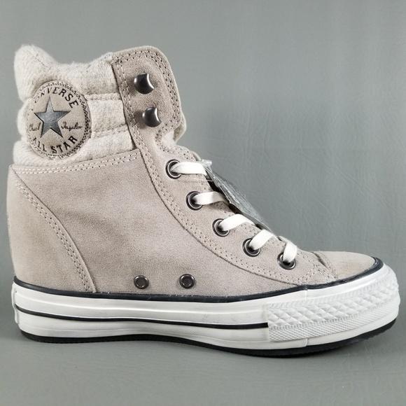5fb4630a49a Converse CTAS Platform Plus Collar Wedge Sneaker 7